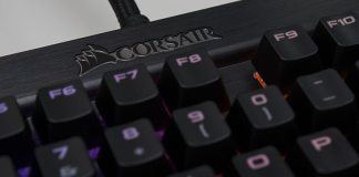Corsair K70 RGB RAPIDFIRE Mechanical Keyboard Review 6
