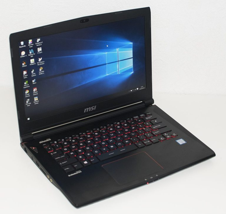 MSI GS40 6QE Phantom Gaming Notebook Review