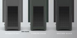 New Phanteks' Enthoo Pro M Acrylic Titanium Green and Anthracite Grey Edition 2