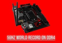 New World Record With DDR4 Memory; 5GHz Achieved on The MSI Z170I GAMING PRO AC 3
