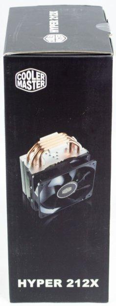 Cooler Master Hyper 212X Box Side1