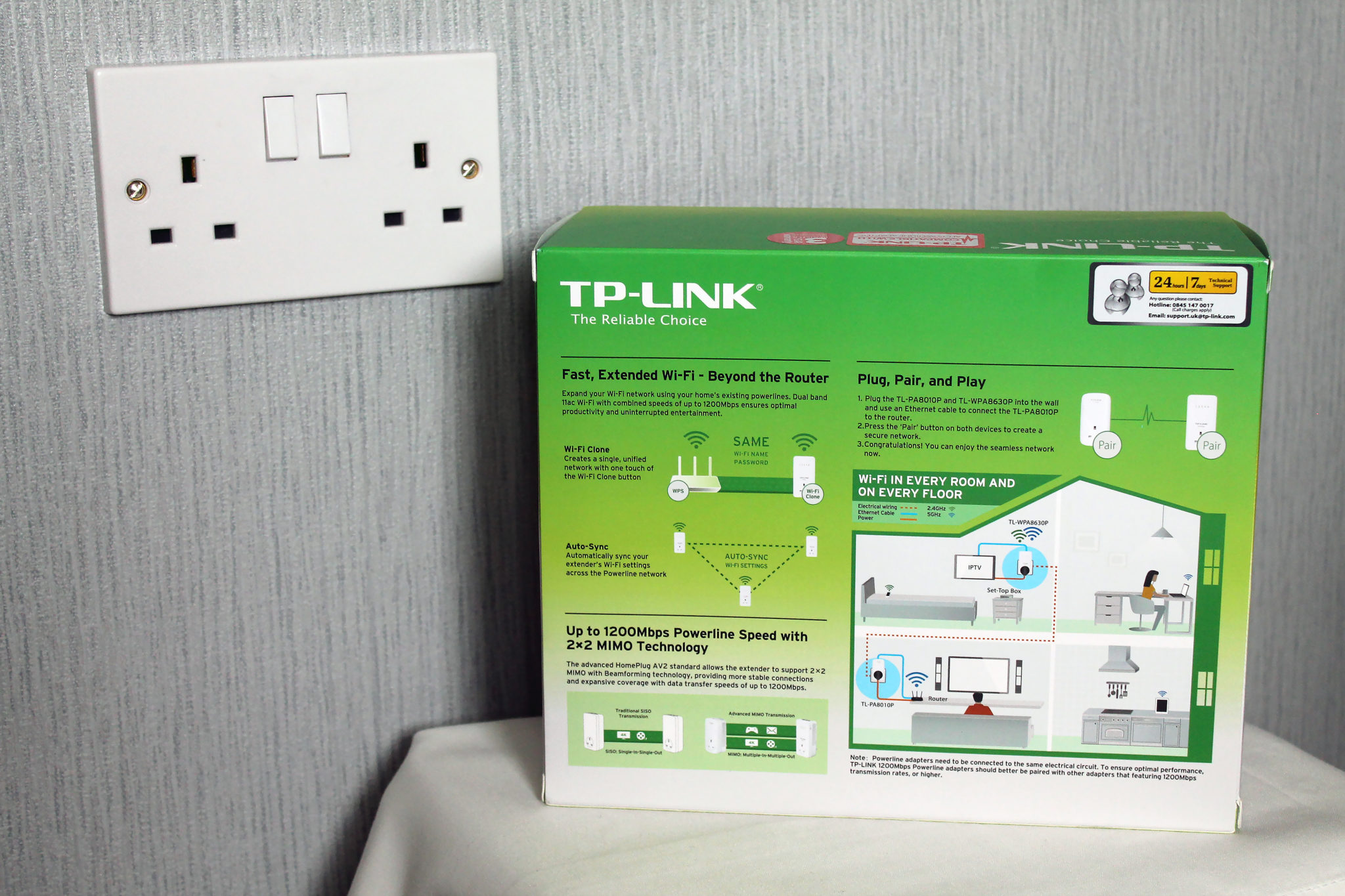 TP-LINK AV1200 Gigabit Passthrough Powerline (3 - Port) Review