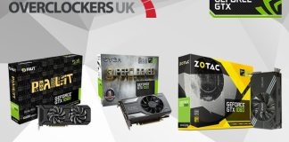 Overclockers UK to Stock Largest Range of GTX 1060s
