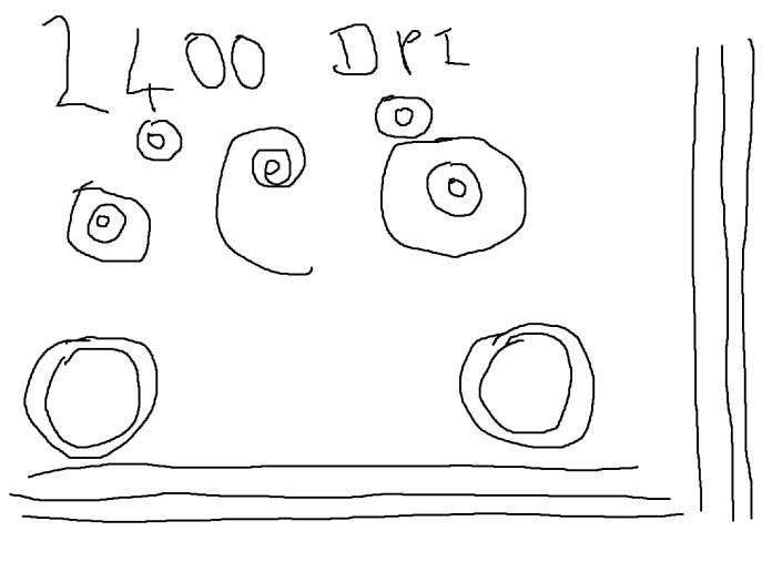 2400 dpi