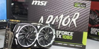MSI GTX 1080 Armor OC 8GB Review