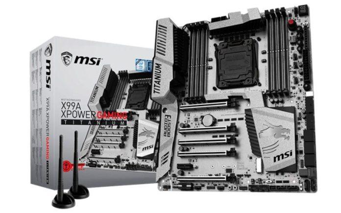 MSI X99A XPOWER Titanium - Cover