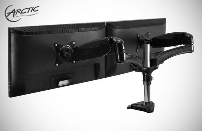 Arctic Z2-3D Dual Monitor Desk Mount Review 4