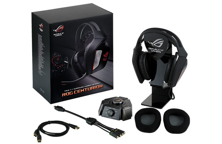 ASUS ROG Announces Centurion 7.1 Headset