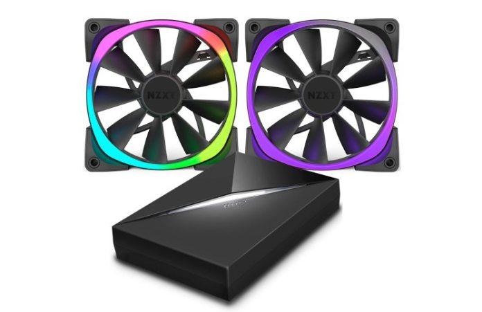 NZXT Introduce Aer RGB Premium Digital LED PMW Fans 1