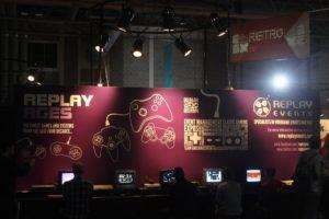 retro console area