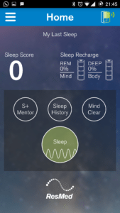 ResMed S+ Sleep Tracker App 4