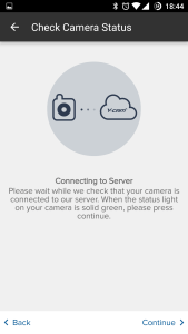 HomeMonitor Ycam Evo App 3