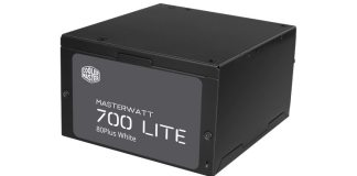 Cooler Master MasterWatt 700 Lite Feature