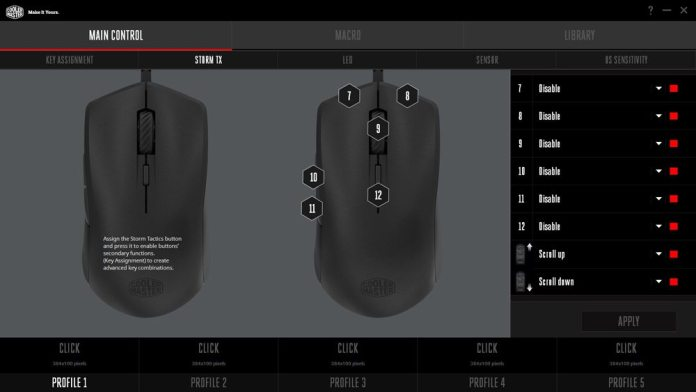 Cooler Master Mastermouse S Software 2