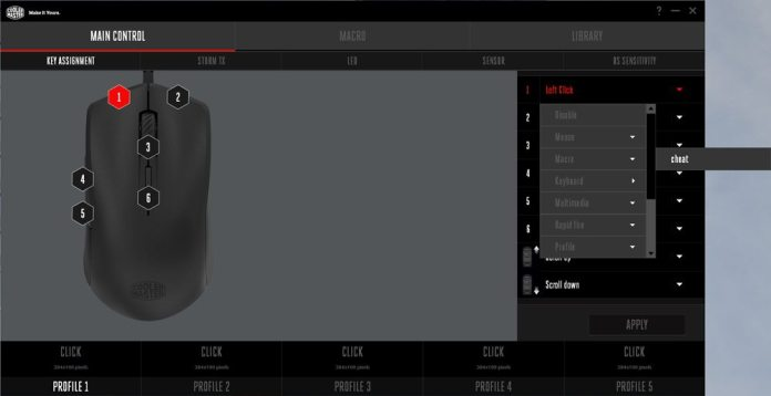 Cooler Master Mastermouse S Software 8