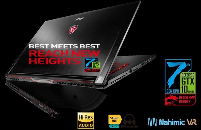 Best Meets Best, Reaching New Heights With New MSI Notebooks And Intel's Kaby Lake Processors 6