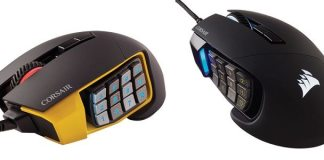 Customization Leveled Up – CORSAIR launches SCIMITAR PRO RGB Gaming Mouse at CES 2017 2