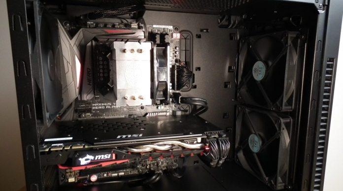 SilverStone KL07 Build2
