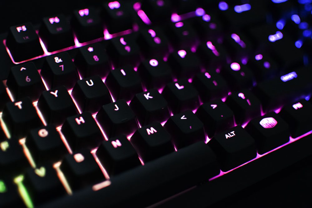 Cooler Master Masterkeys Pro M RGB Mechanical Keyboard
