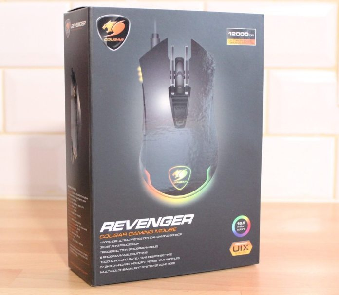 Cougar Revenger Box Front