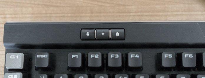 corsair k95 platinum buttons