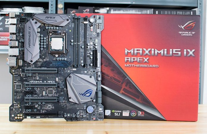 ASUS ROG MAXIMUS IX APEX Z270 Motherboard Review