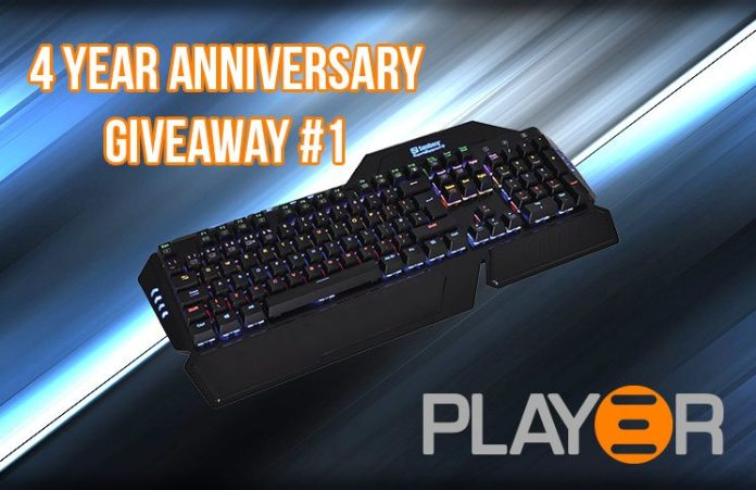 Play3r 4 Year Anniversary #1 Sandberg Hailstorm RGB Mechanical Keyboard