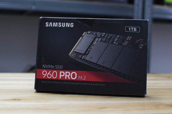 Samsung 960 PRO Box