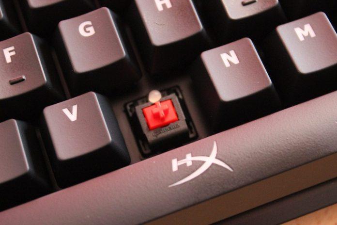 cherry red key switch