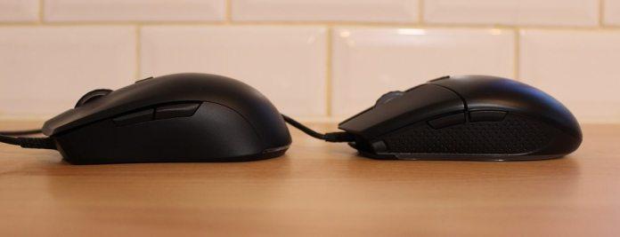 mouse button comparison