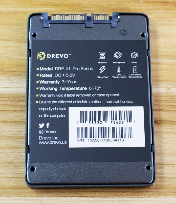 Drevo X1 Pro 256GB SSD 3