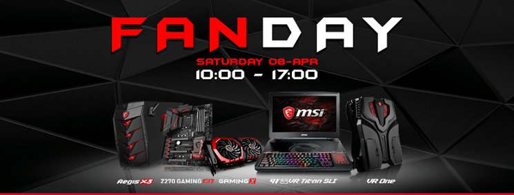 MSI Fan Day at Fnatic's Bunkr Esports Store London | Play3r
