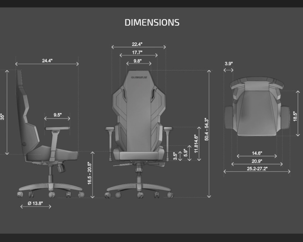 Enjoyable Quersus Evos 300 Gaming Chair Review Machost Co Dining Chair Design Ideas Machostcouk