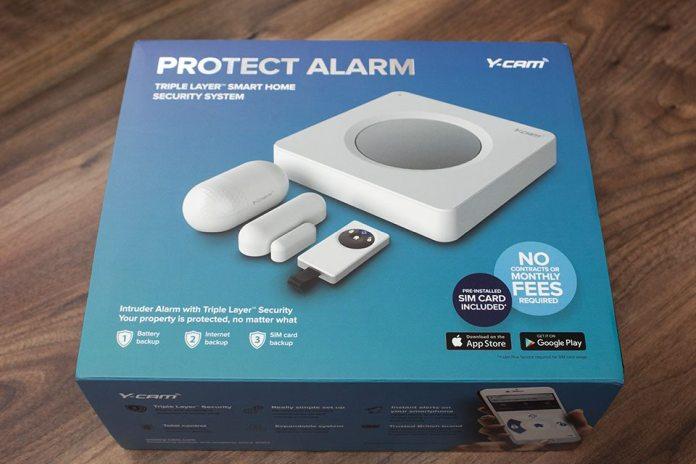 Y-cam Protect Alarm Box