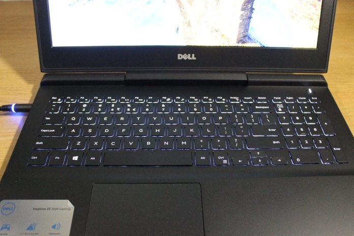 dell inspiron 15 7000 backlit keyboard