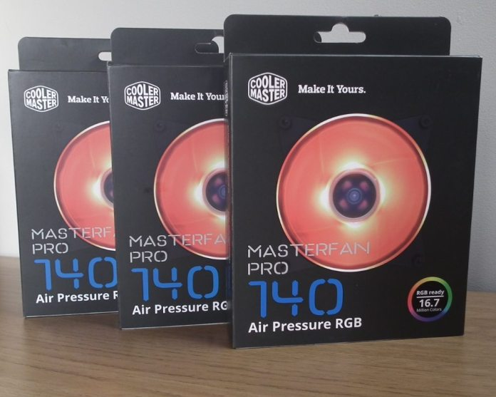 CM MasterFan Pro RGB Boxes