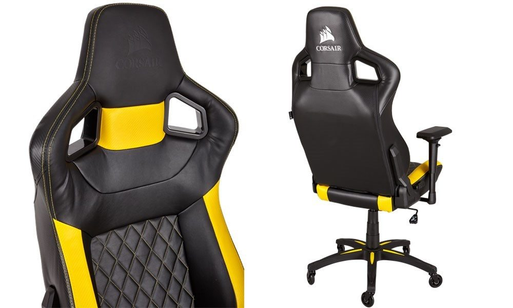 red swivel desk chair basketball for kids corsair announces their new t1 race gaming | play3r