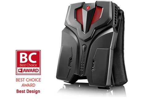Ultra Compact MSI Vortex G25VR Gaming Desktop