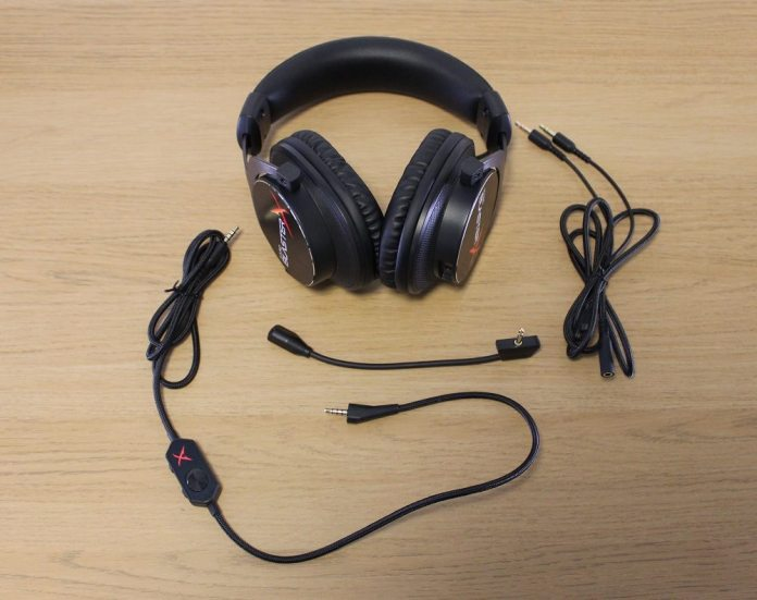 sound blaster H5 box contents