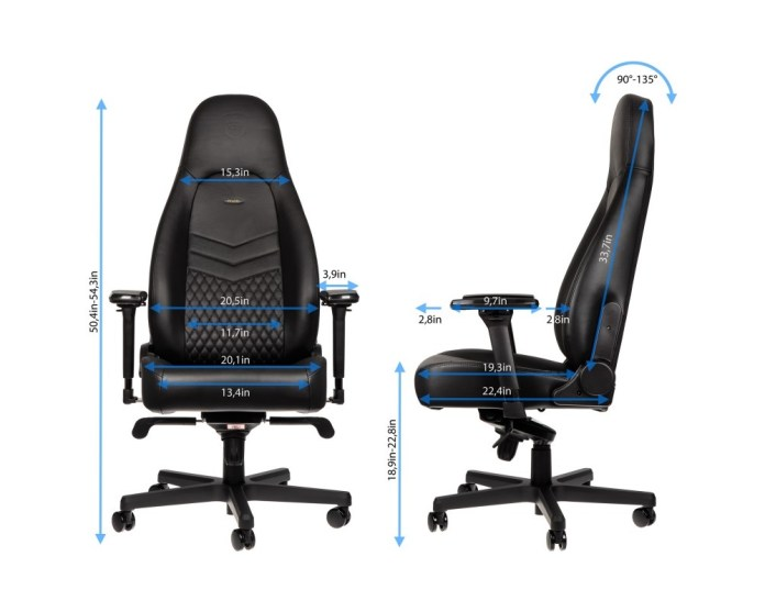 noblechairs ICON size