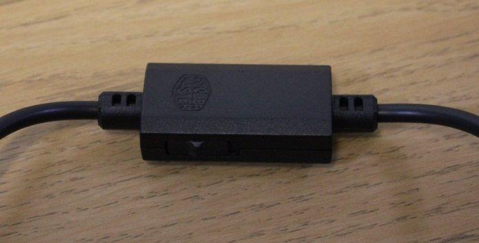 CM Masterpulse MH320 in line controls