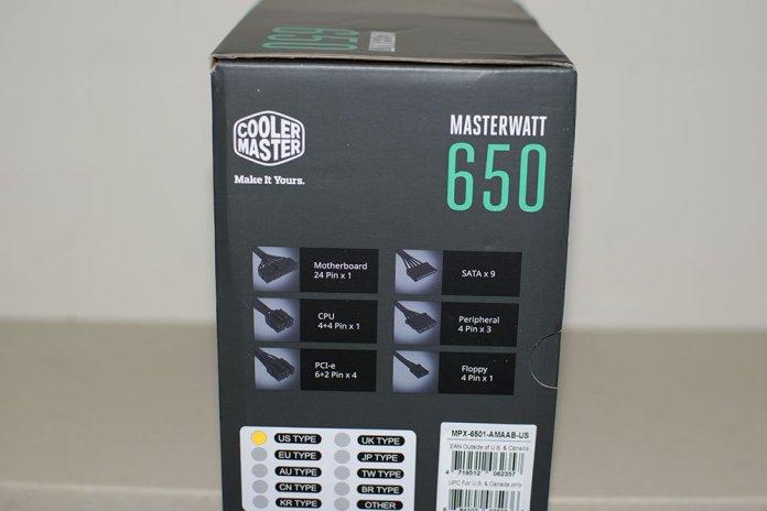 Cooler Master Masterwatt 650 PSU Review 2