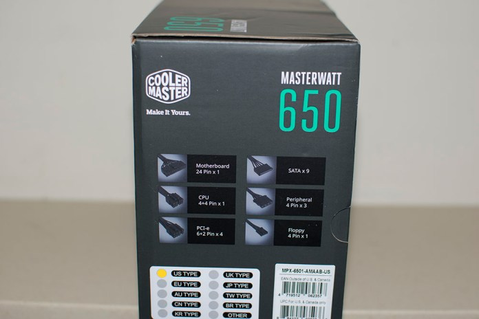 Cooler Master Masterwatt 650 PSU Review 2