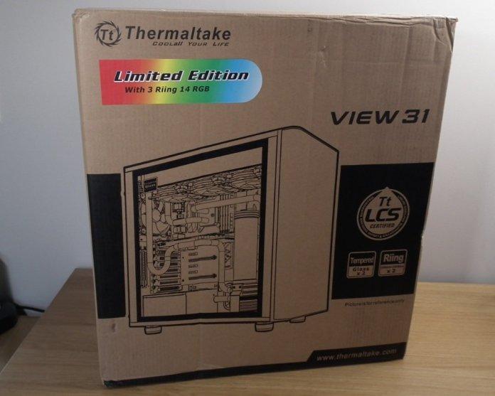 Thermaltake View 31 RGB box