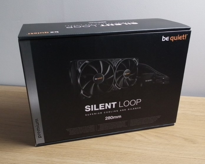 bequiet silent loop 280 box