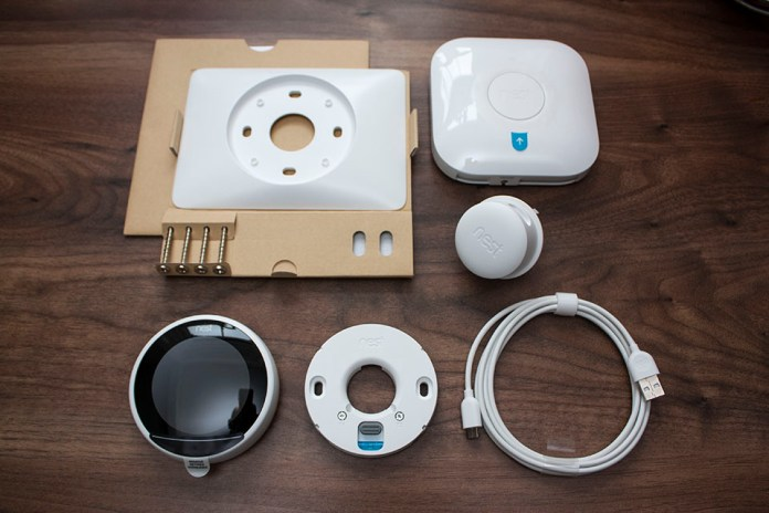 Nest Smart Thermostat Contents
