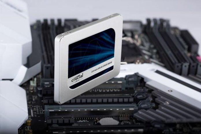 Crucial MX500 SSD 1