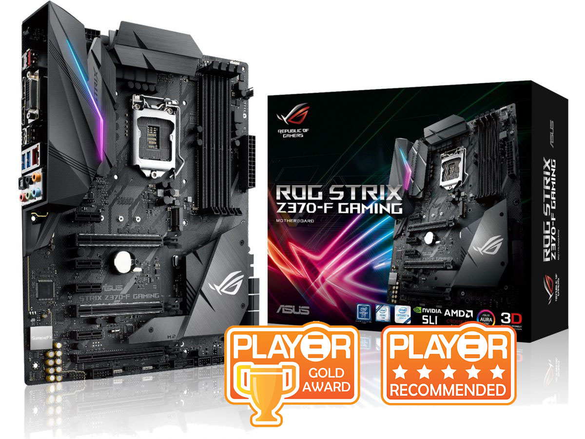 ASUS ROG STRIX Z370-F Gaming Motherboard Review   Play3r
