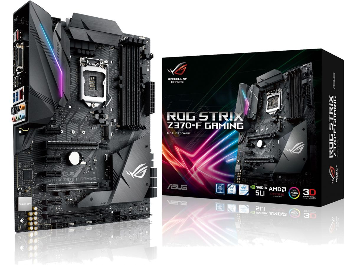 ASUS ROG STRIX Z370-F Gaming Motherboard Review | Play3r