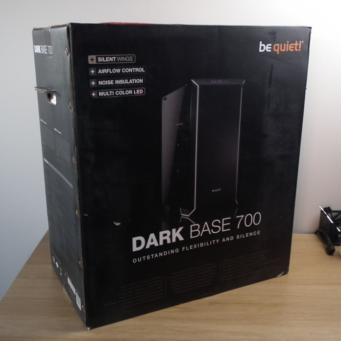be quiet dark base 700 box